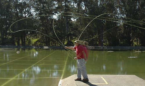 Coldon fishing store for Fly fishing casting techniques